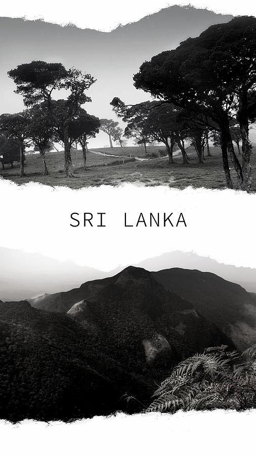 Sri Lanka Poster by Jenny Rainbow