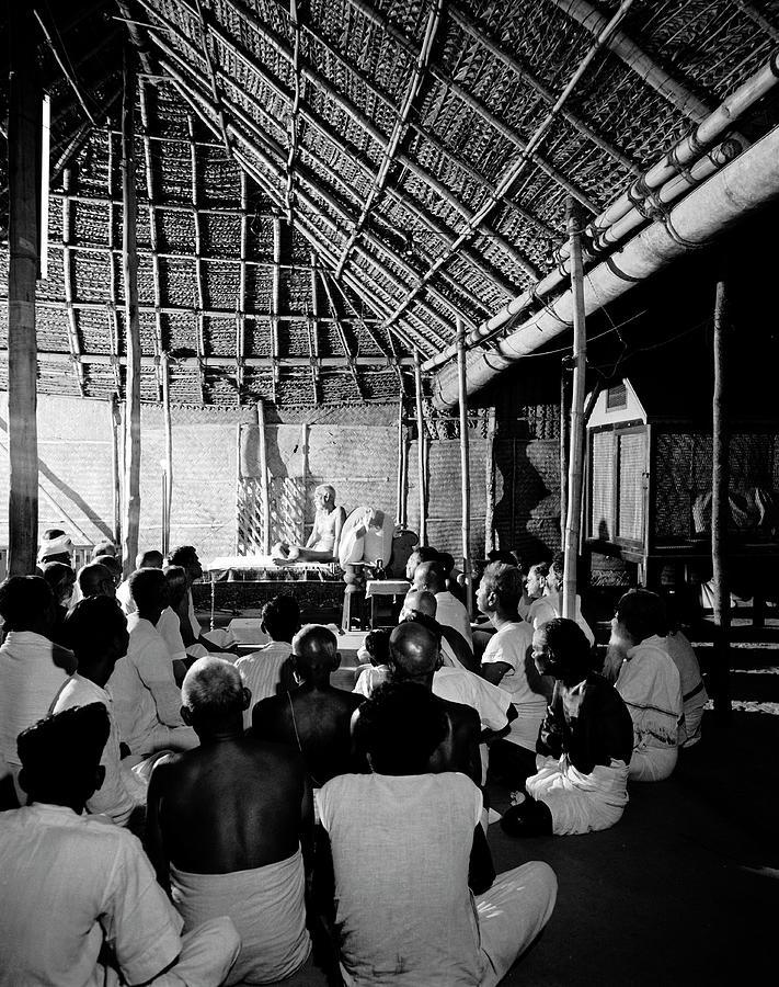 Sri Ramana Maharshi Photograph by Eliot Elisofon