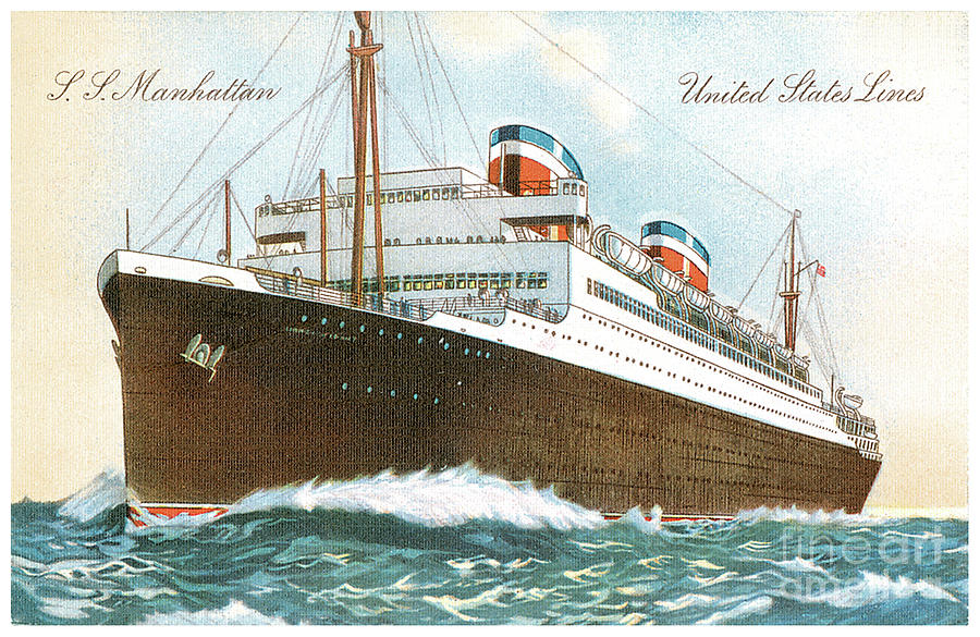 SS Manhattan 1931  by Unknown