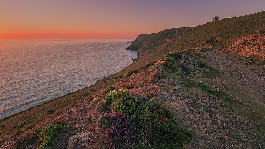 St Agnes Sunset by Eddy Kinol