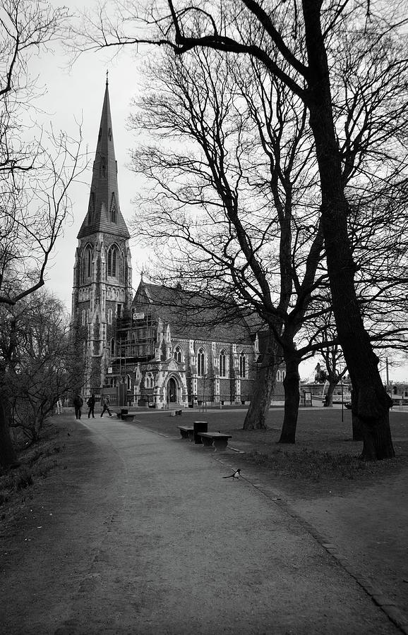 St. Alban's Church, Copenhagen BW by RicardMN Photography