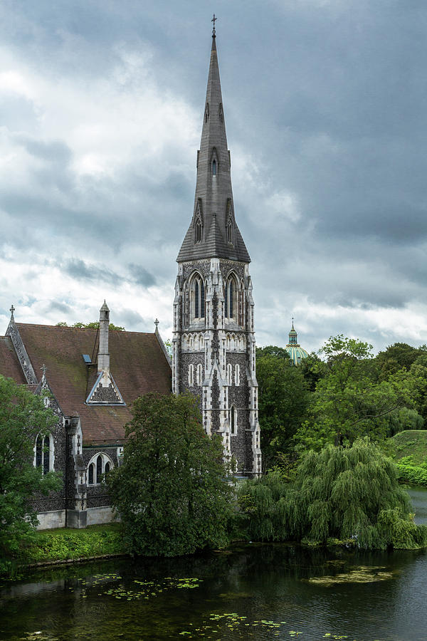 St Alban's Church  by John Daly
