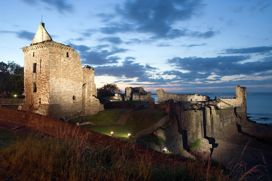 St Andrews Castle Photograph by Jvoisey