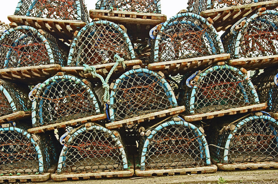 St. ANDREWS. Lobster Pots. by Lachlan Main