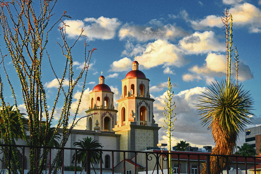 St. Augustine Cathedral Framed by Chance Kafka