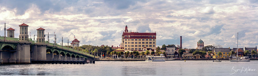 St. Augustine Bayfront by Bryan Lee Williams