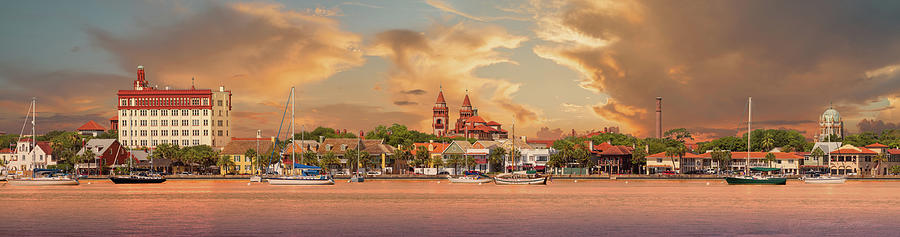 St. Augustine Bayfront by Stacey Sather