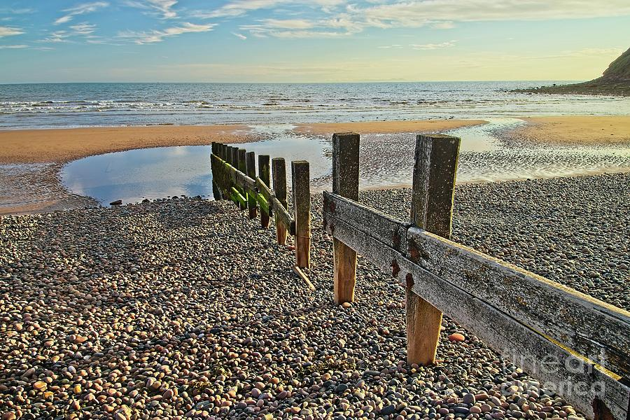 St. Bees Beach Cumbria by Martyn Arnold