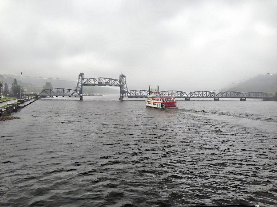 St Croix Riverboat by Tom Reynen