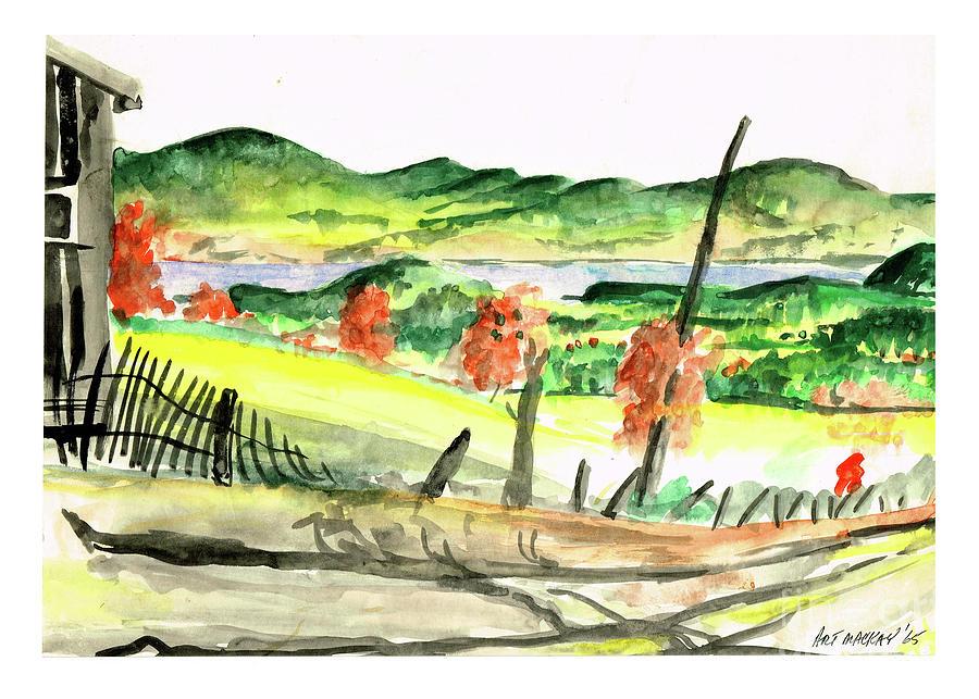 St. David Ridge, NB by Art MacKay
