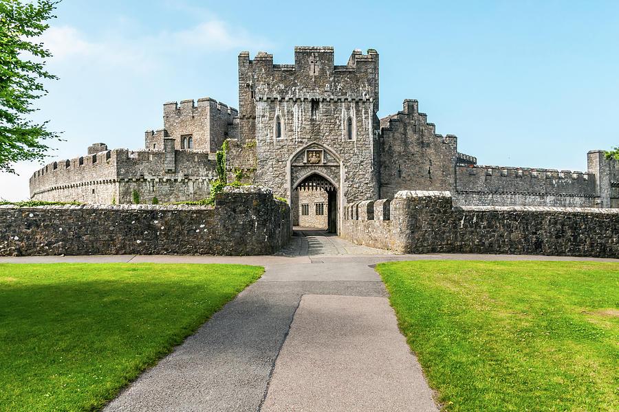 St Donats Castle Gateway Photograph