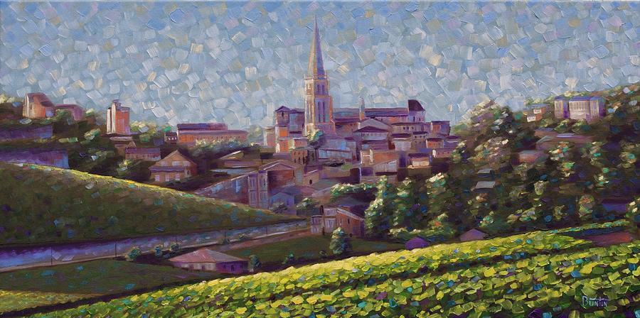 Impressionism Painting - St. Emilion Art by Rob Buntin