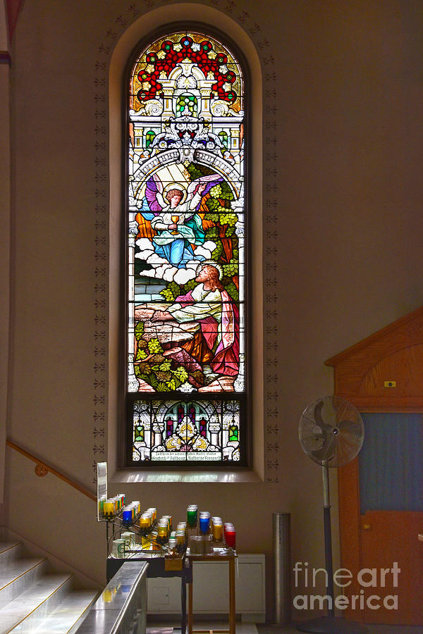 St. Fidelis Stained Glass Window by Catherine Sherman