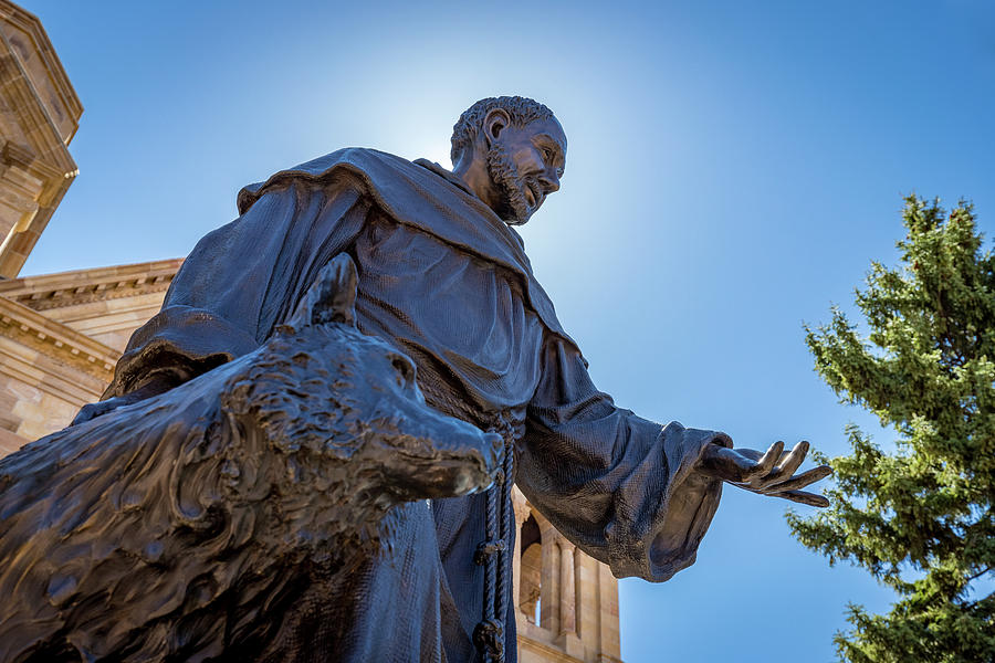 St. Francis of Assisi Statue by Tim Stanley