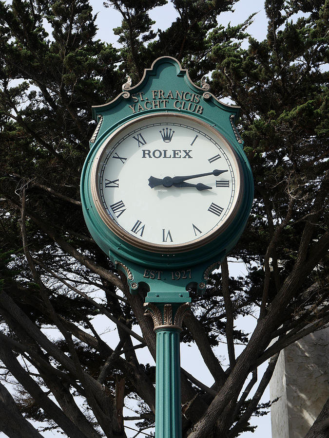 St Francis Yacht Club Clock by Richard Reeve