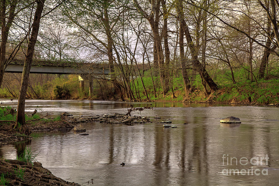 Hiking Photograph - St. Francois River At Gruner Ford Access by Larry Braun