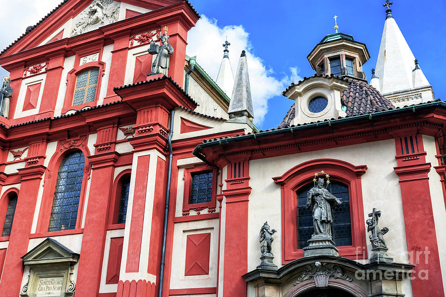 St. George's Basilica Prague by John Rizzuto