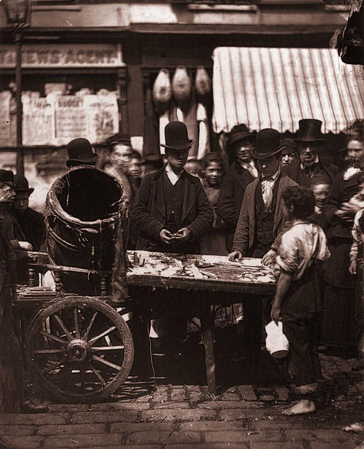 St Giles Market Photograph by John Thomson