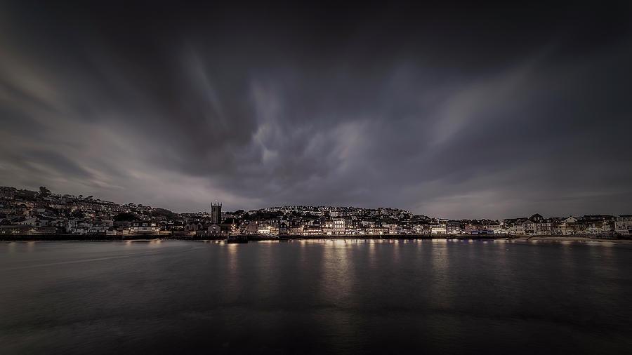 St Ives Cornwall - Dramatic Sky by Eddy Kinol