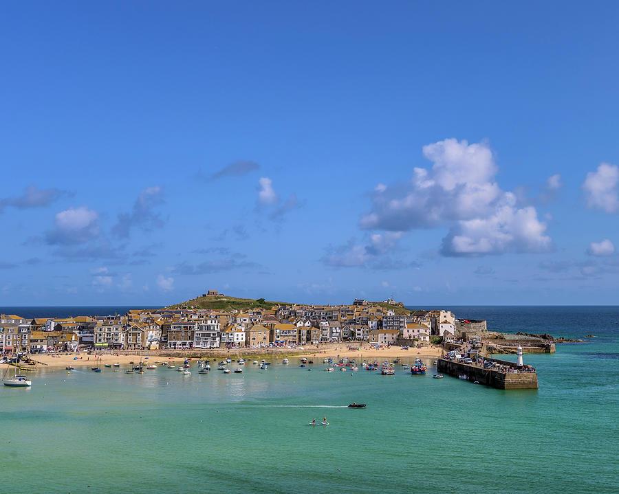 St Ives Cornwall - General view by Eddy Kinol