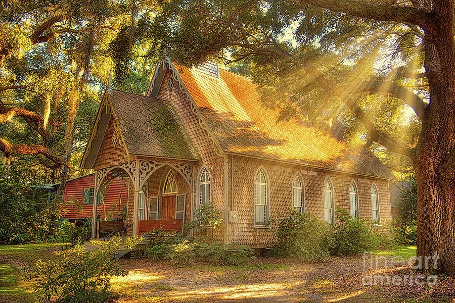 St. James Santee Episcopal Chapel of Ease by Kathy Baccari