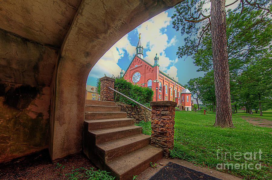 Hdr Photograph - St Joesph Chapel  by Larry Braun