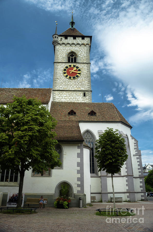 St. Johann church in Schaffhausen by Michelle Meenawong