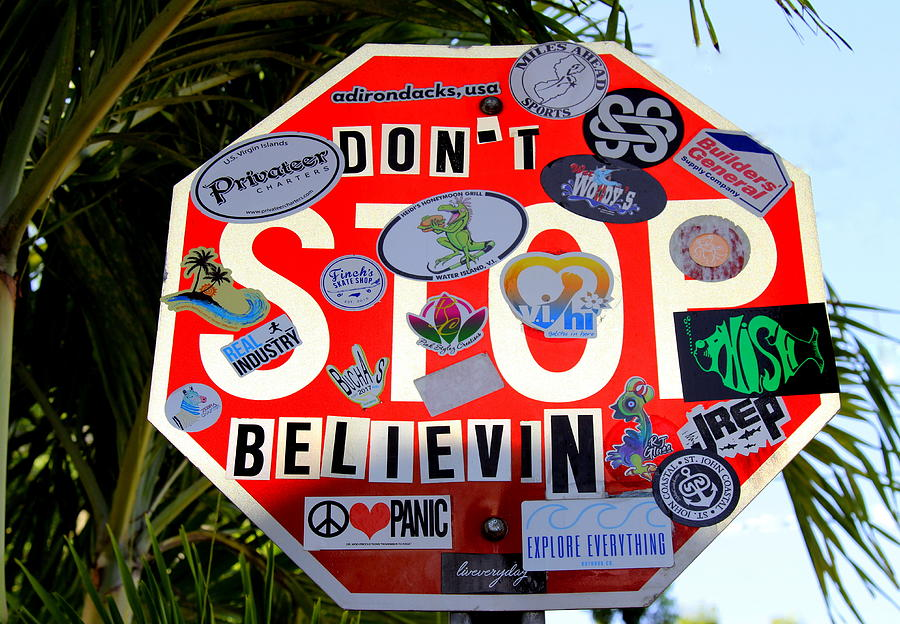 St. John Dont Stop Believin Photograph