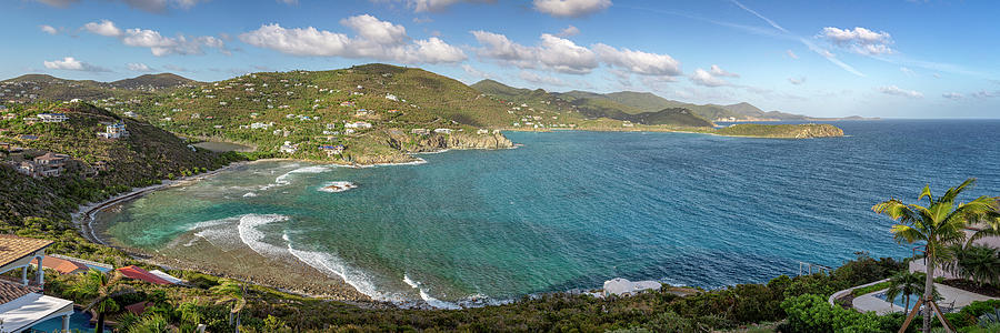 St. John Rendezvous Bay Panoramic by Adam Romanowicz