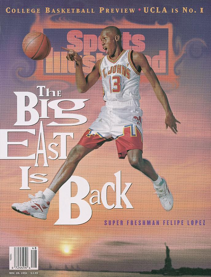 St. Johns Philipe Lopez Sports Illustrated Cover Photograph by Sports Illustrated