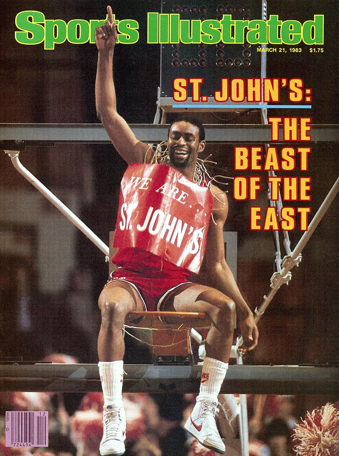 St. Johns University Billy Goodwin, 1983 Big East Tournament Sports Illustrated Cover Photograph by Sports Illustrated