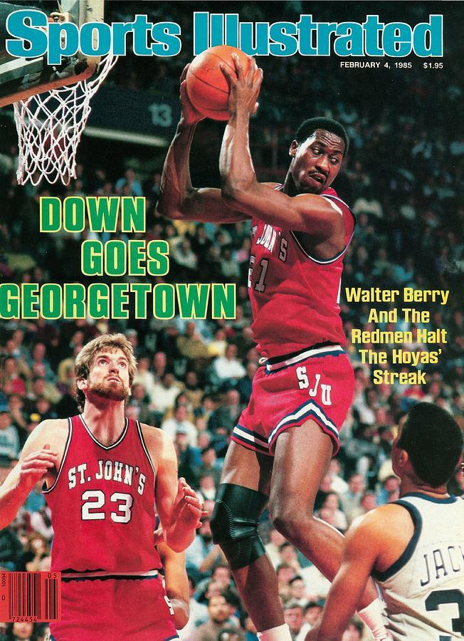 St. Johns University Walter Berry Sports Illustrated Cover Photograph by Sports Illustrated