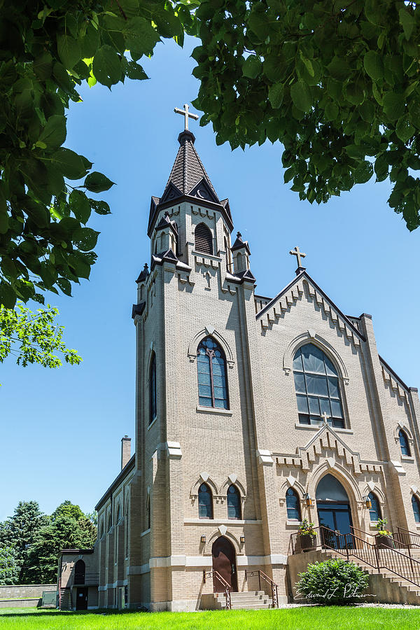 St. Joseph Catholic Church by Edward Peterson