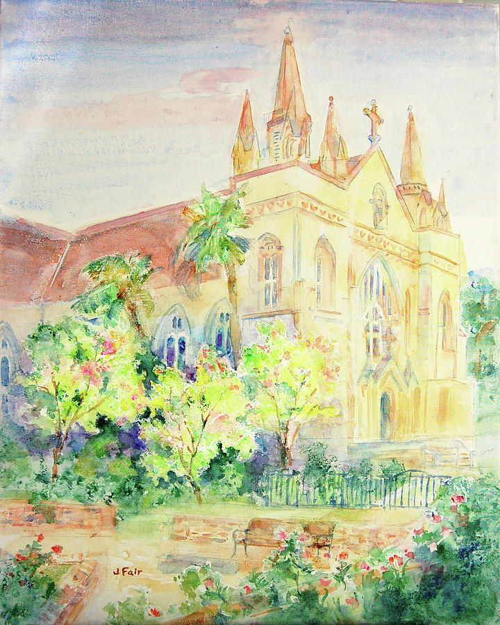 St. Joseph's Chapel in Springtime by Jerry Fair