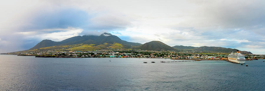 St. Kitts Basseterre Panorama by Kristia Adams