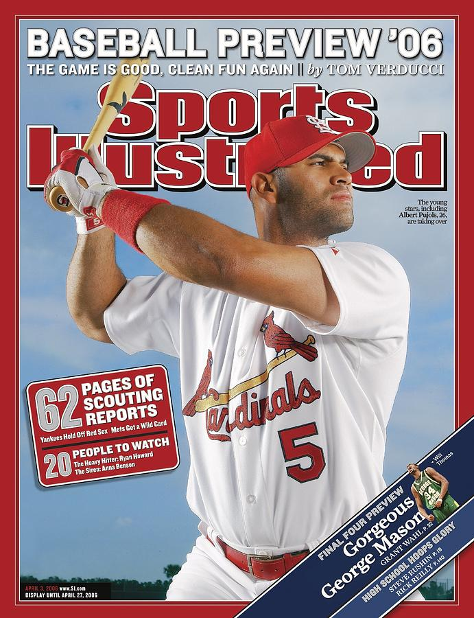 St. Louis Cardinals Albert Pujols Sports Illustrated Cover Photograph by Sports Illustrated