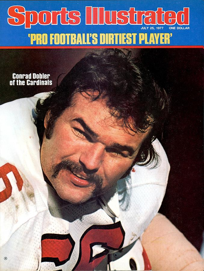 St. Louis Cardinals Conrad Dobler Sports Illustrated Cover Photograph by Sports Illustrated