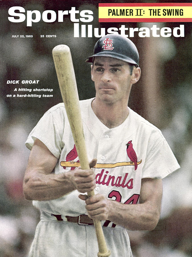 St. Louis Cardinals Dick Groat Sports Illustrated Cover Photograph by Sports Illustrated