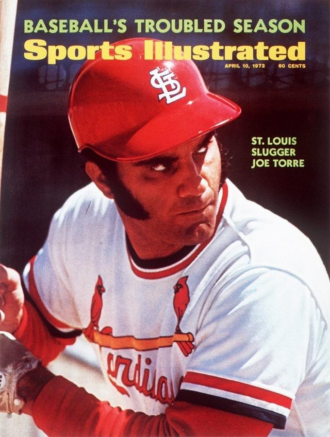 St. Louis Cardinals Joe Torre Sports Illustrated Cover Photograph by Sports Illustrated