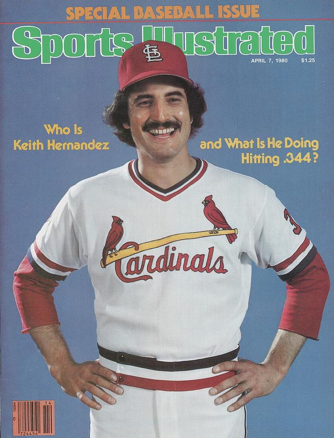 St. Louis Cardinals Keith Hernandez Sports Illustrated Cover by Sports  Illustrated