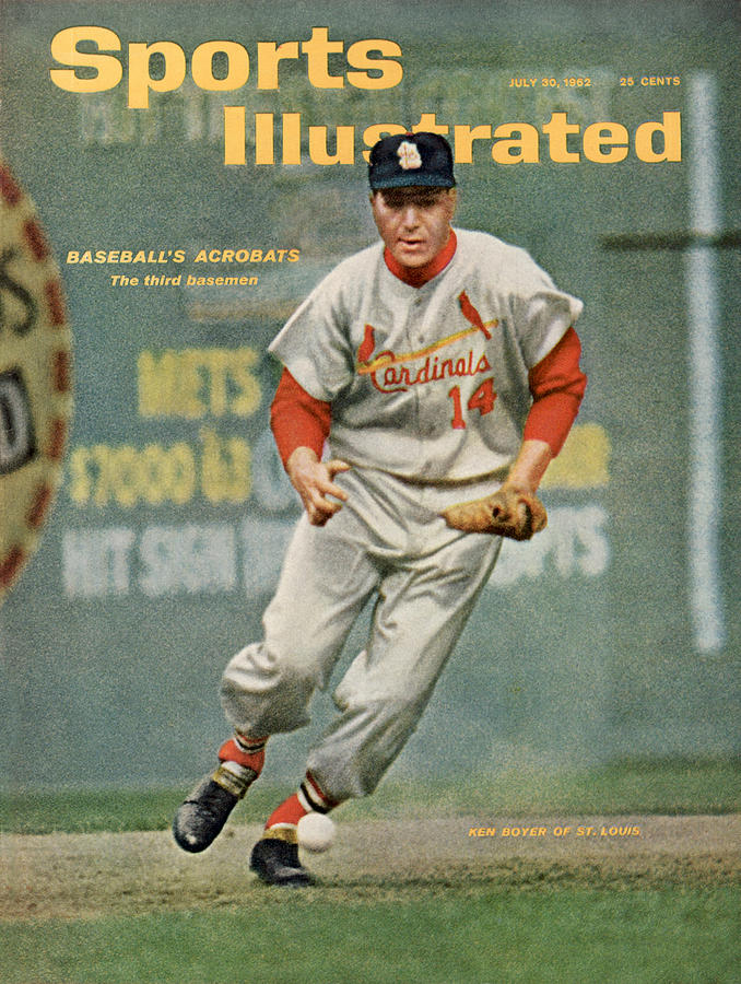St. Louis Cardinals Ken Boyer... Sports Illustrated Cover Photograph by Sports Illustrated