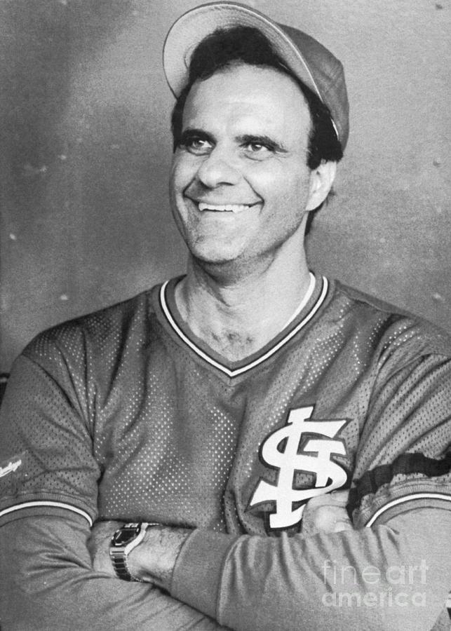 St. Louis Cardinals Manager Joe Torre Photograph by Bettmann