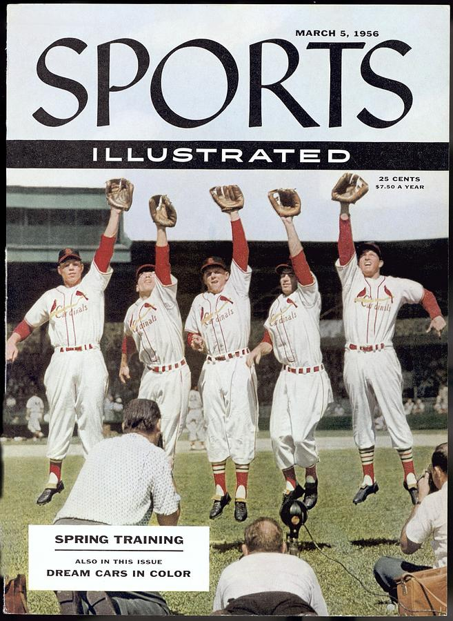 St. Louis Cardinals Sports Illustrated Cover Photograph by Sports Illustrated