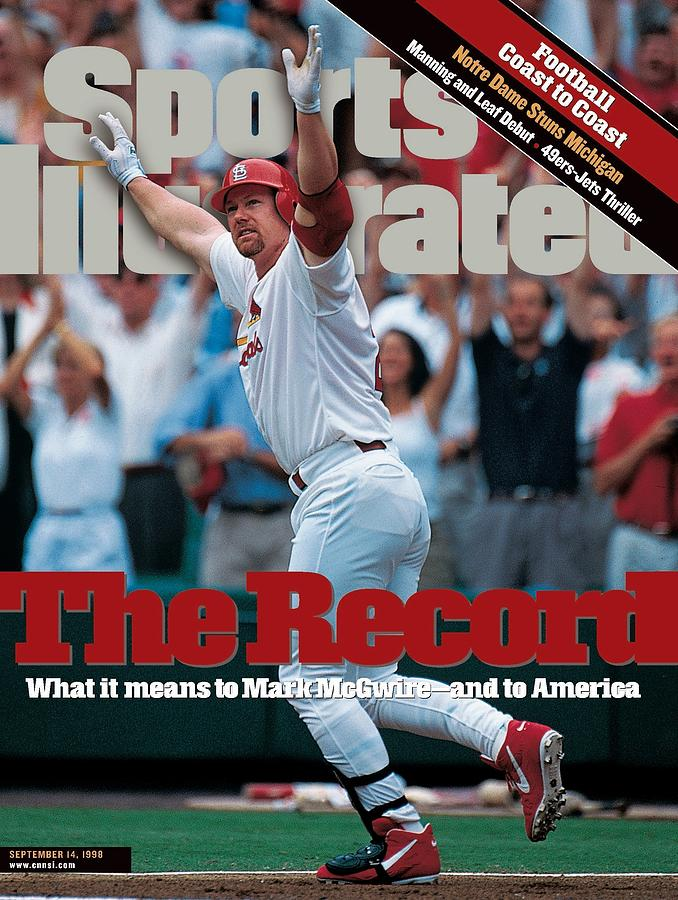 St. Louis Cardinals Mark Mcgwire... Sports Illustrated Cover Photograph by Sports Illustrated