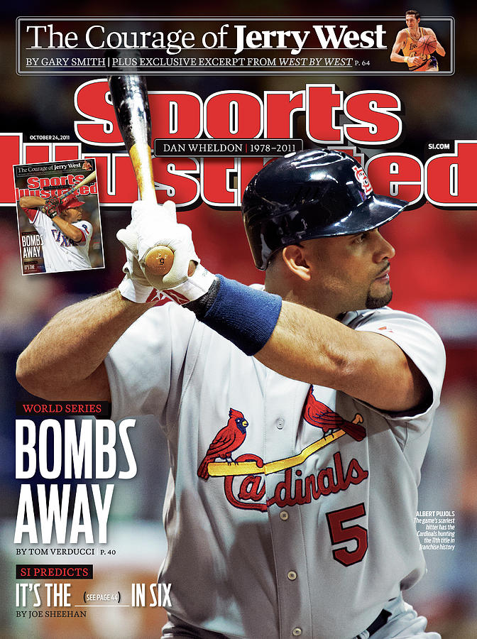 St Louis Cardinals V Milwaukee Brewers - Game 6 Sports Illustrated Cover Photograph by Sports Illustrated