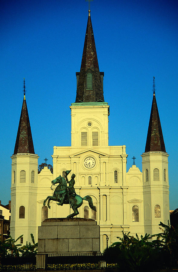 St Louis Cathedral, Built In 1794, At Photograph by Lonely Planet