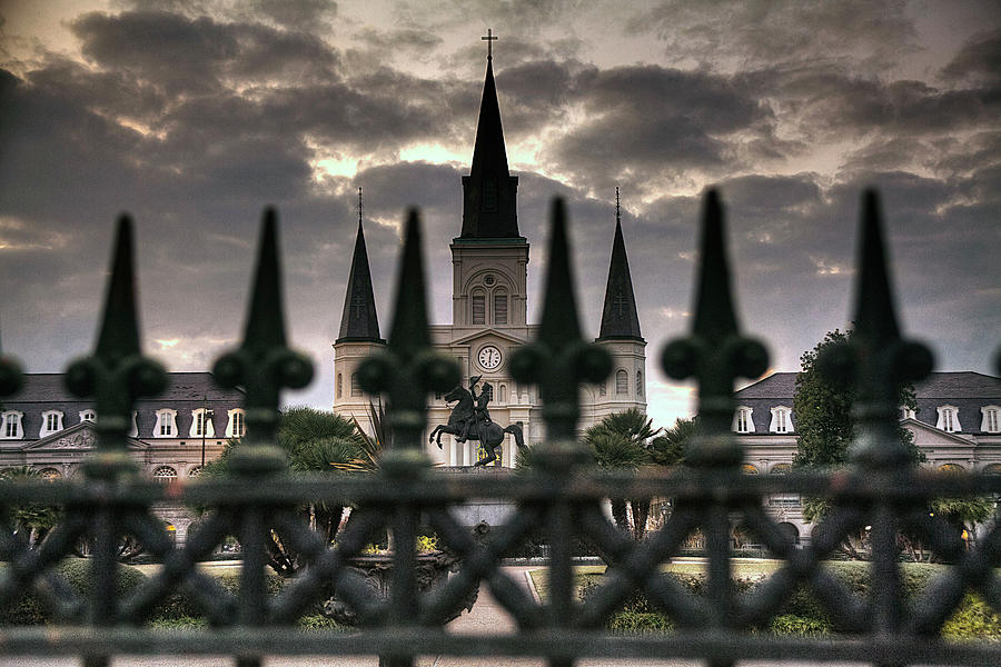St Louis Cathedral II Photograph by Larrybraunphotography.com