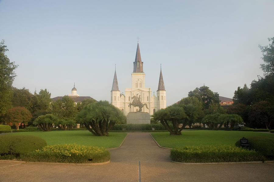 St Louis Cathedral, Jackson Square Photograph by Medioimages/photodisc