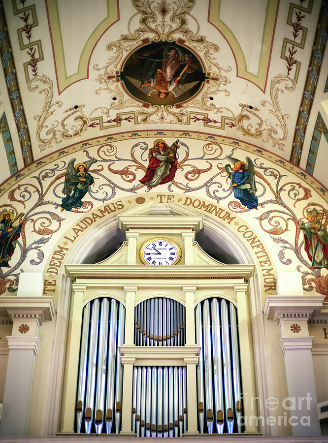 St. Louis Cathedral Organ in New Orleans by John Rizzuto