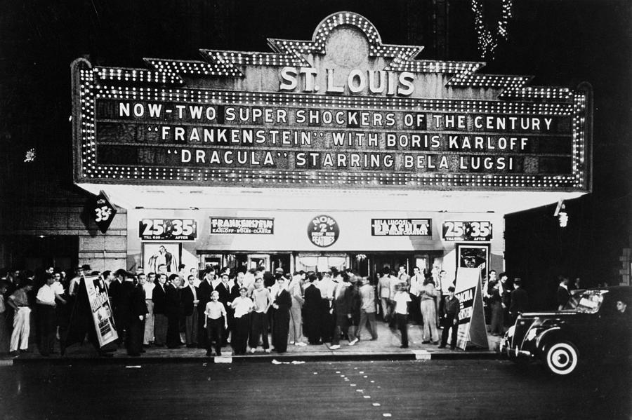 St Louis Cinemaplex, Circa 1930 Photograph by Archive Holdings Inc.